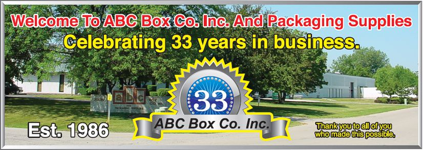33 Year Anniversary for ABC Box Co.